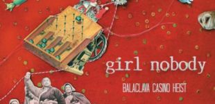cd cover illustration for Girl Nobody