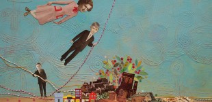 Tightrope, cd cover for the 3 Cohens. . . sold