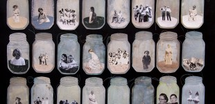 40 Families in jars, detail