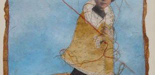 boy with kite.    .    .    .    .    .    . sold