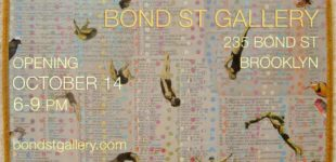 Bond St. Gallery in Brooklyn - group show opening Thursday, October 14