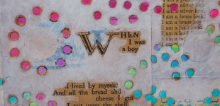 When I Was a Boy, detail 1