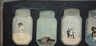 Families in Jars, a Collection, detail 2